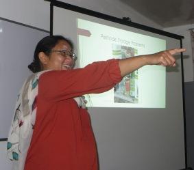 Julie Longland in Nepal