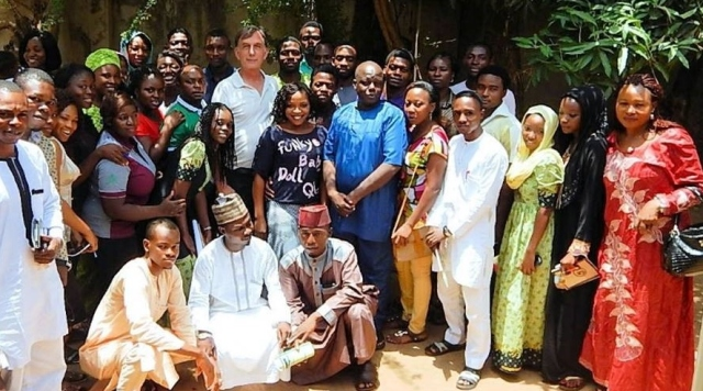 group photo NIG350 College of Agriculture and Animal Science